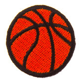 Basketball Iron-On Appliques